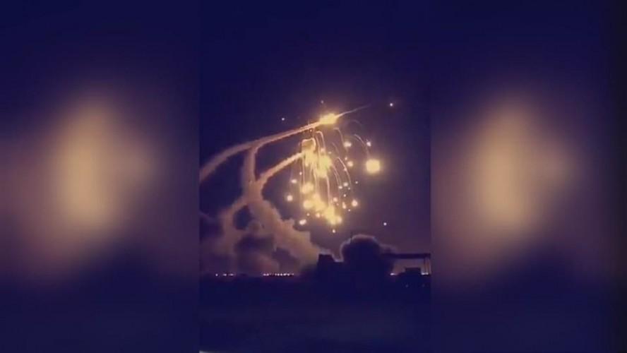 اعتراض صواريخ في الرياض وجازان