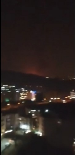 فيديو .. عاجل التلفزيون الايراني يعترف بوقوع امر جلل شرق العاصمة.
